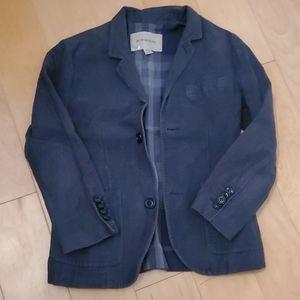 Burberry boys blazer dress jacket navy Sz 8